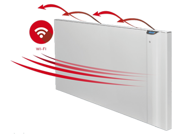 Digital electric radiators connected Dual-Therm - KLIMA Wi-Fi