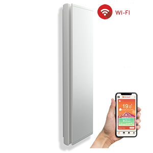 Digital Vertical Shaped Electric Radiator - ICON Wi-Fi