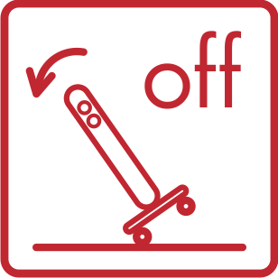 Safety system in case  of overturning