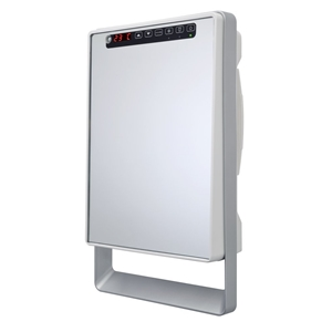 Wall mounted Bathroom fan heater with Mirror surface - TOUCH VISIO