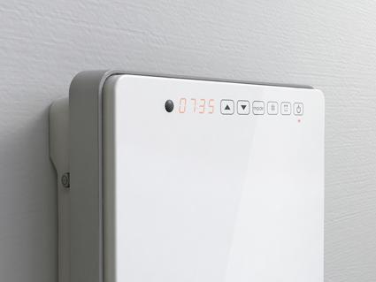 Termoventilatore da parete per bagno touch radialight - Deumidificatore per bagno ...