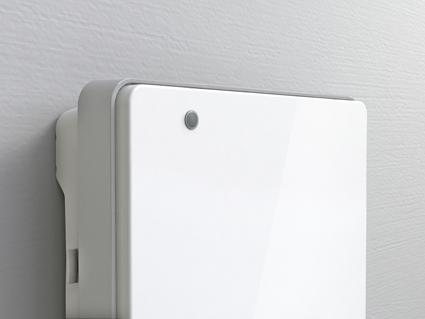 Termoventilatore da bagno con timer folio radialight - Deumidificatore bagno parete ...