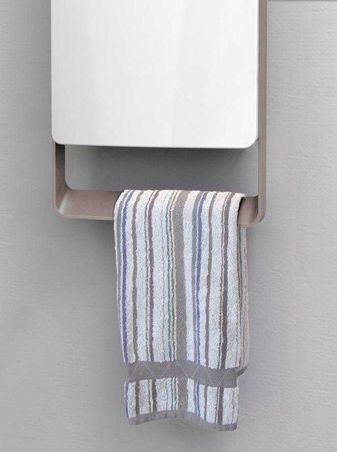 termoventilatore bagno digitale touch versione grigio radialight