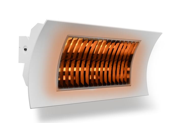Lampada infrarossi oasi by radialight nera ǀ radialight
