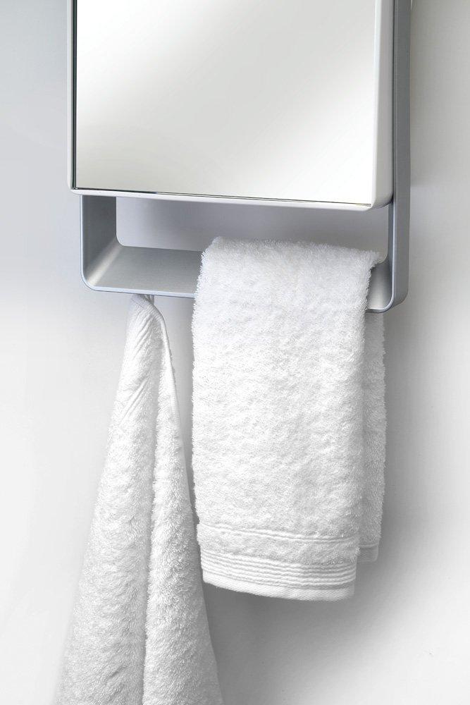 Termoventilatore da bagno con timer e specchio folio visio radialight - Scaldasalviette da bagno ...