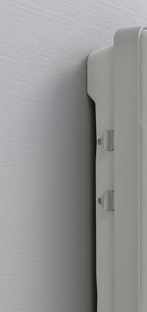 Termoventilatore da bagno con timer e specchio folio visio radialight - Termoconvettore bagno ...