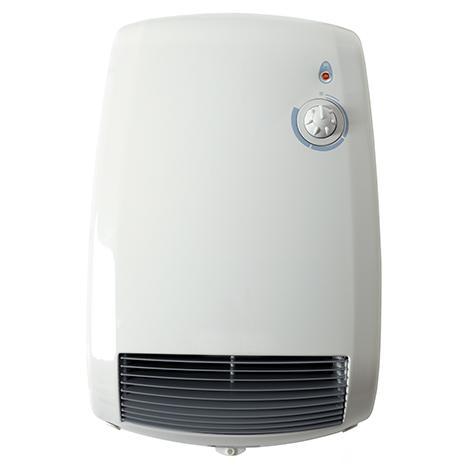 Termoventilatore a muro con termostato ces5000 radialight - Termoventilatore da bagno ...