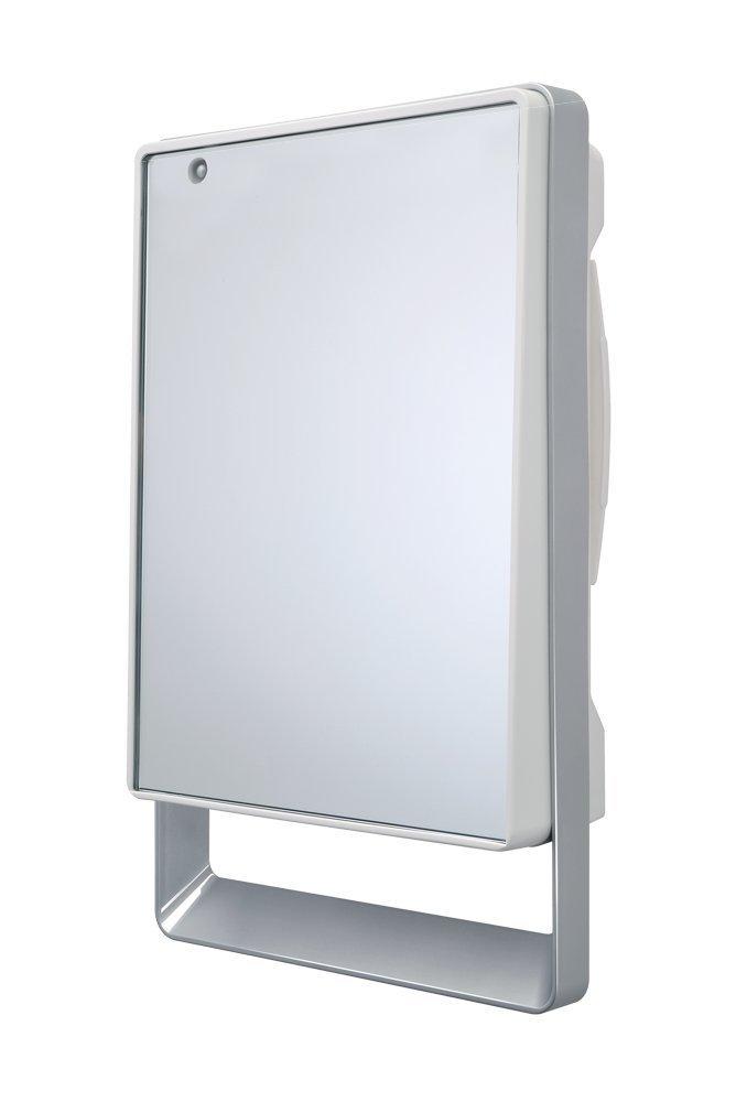 Termoventilatore da bagno con timer e specchio folio visio radialight - Termoventilatore per bagno ...