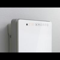 Termoventilatore da parete per bagno touch radialight - Deumidificatore bagno parete ...