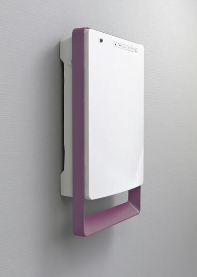 Termoventilatore Elettrico da bagno Digitale Touch (versione Malva ...